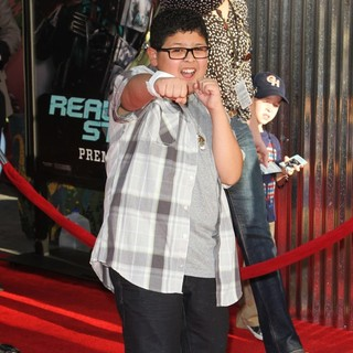Rico Rodriguez in Los Angeles Premiere of Real Steel