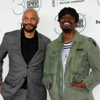 John Ridley, Andre Benjamin in 30th Film Independent Spirit Awards - Arrivals