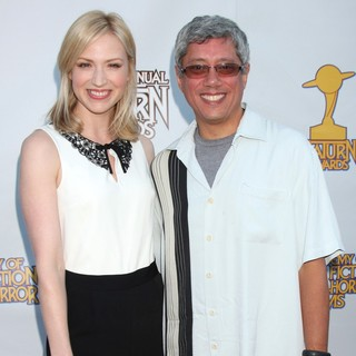 Beth Riesgraf in The 2012 Saturn Awards - riesgraf-devlin-2012-saturn-awards-01