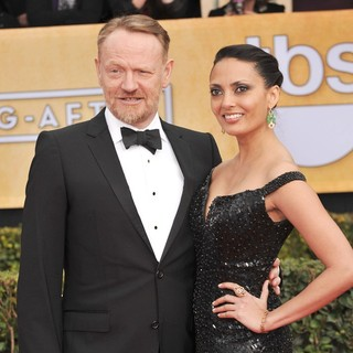 Jared Harris, Allegra Riggio in 19th Annual Screen Actors Guild Awards - Arrivals
