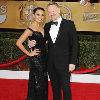 Allegra Riggio, Jared Harris in 19th Annual Screen Actors Guild Awards - Arrivals