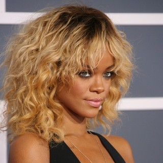 Rihanna in 54th Annual GRAMMY Awards - Arrivals