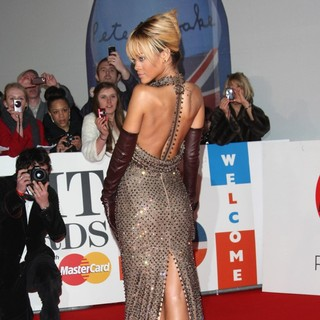 Rihanna in The BRIT Awards 2012 - Arrivals