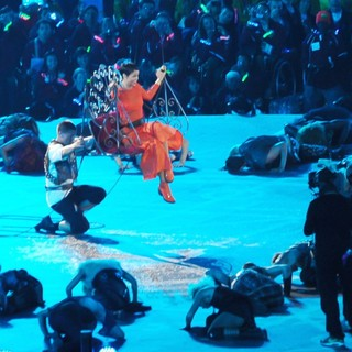 Rihanna in Closing Ceremony for The Paralympics 2012