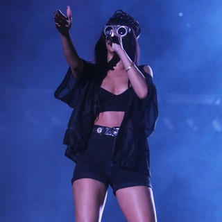 Rihanna in BBC Radio 1's Hackney Weekend - Day 1