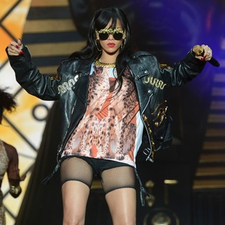 Rihanna in BBC Radio 1's Hackney Weekend - Day 2