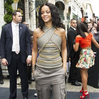 Rihanna in The Rogue by Rihanna Launch