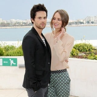 Tom Riley, Laura Haddock in MIPTV 2013 - Da Vinci's Demons Photocall