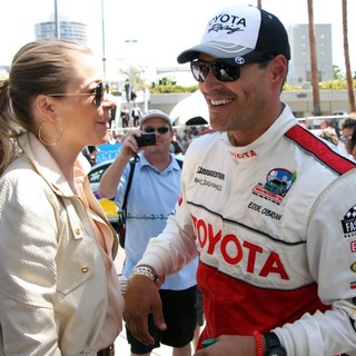 LeAnn Rimes, Eddie Cibrian in The 36th Annual Toyota Pro-Celebrity Race