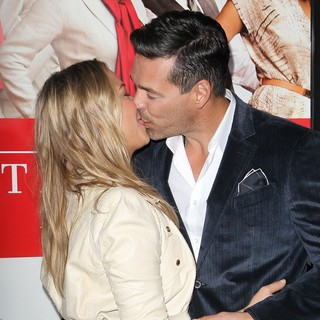 LeAnn Rimes, Eddie Cibrian in Los Angeles Premiere of The Best Man Holiday