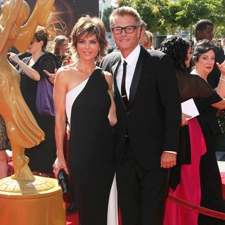 Lisa Rinna, Harry Hamlin in 2013 Primetime Creative Arts Emmy Awards - Arrivals