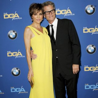 Lisa Rinna, Harry Hamlin in The 66th Annual DGA Awards - Arrivals