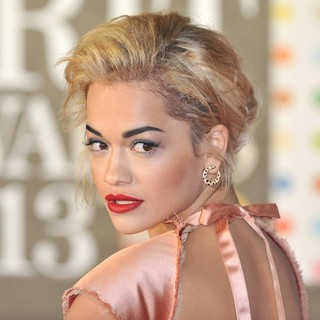 Rita Ora in The 2013 Brit Awards - Arrivals
