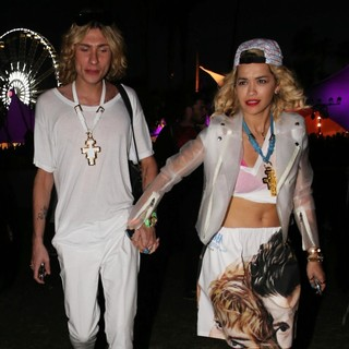 Rita Ora - The 2013 Coachella Valley Music and Arts Festival - Week 1 Day 2