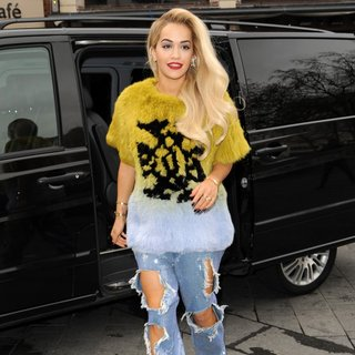 Rita Ora - Rita Ora Arrives at Global