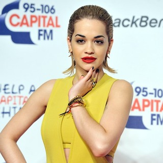 Rita Ora in Capital FM Jingle Bell Ball 2012 - Arrivals