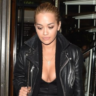 Lewis Hamilton and Rita Ora Dine Out Together
