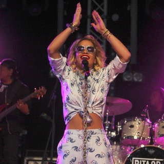 Rita Ora in BBC Radio 1's Hackney Weekend - Day 1