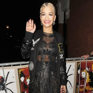 Rita Ora Leaving The Shepherds Bush Empire
