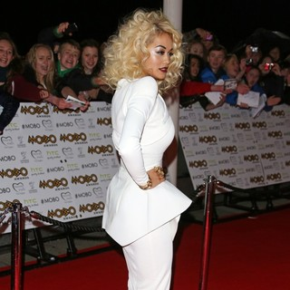 Rita Ora in The MOBO Awards 2012 - Arrivals