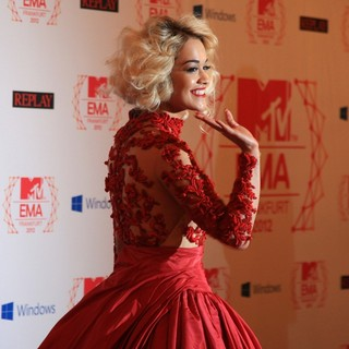 Rita Ora - The MTV EMA's 2012 - Arrivals