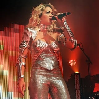 Rita Ora in Rita Ora Performing Live on Stage Her Radioactive Tour