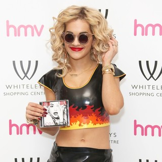 Rita Ora in Rita Ora Signs Copies of Her Debut Album Ora
