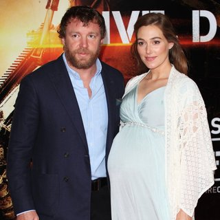 Guy Ritchie, Jacqui Ainsley in World Premiere of Edge of Tomorrow - Arrivals
