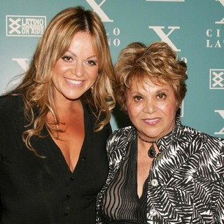 Jenni Rivera, Lupe Ontiveros in Cielo Latino's Latino Commission on Aids Event
