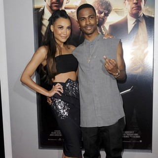 Naya Rivera, Big Sean in Los Angeles Premiere of The Hangover Part III