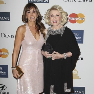 Melissa Rivers, Joan Rivers in Clive Davis and The Recording Academy's 2013 Pre-Grammy Gala and Salute to Industry Icons