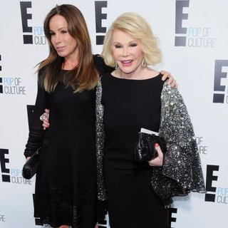 Melissa Rivers, Joan Rivers in E! 2012 Upfront