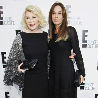 Joan Rivers, Melissa Rivers in E! 2012 Upfront