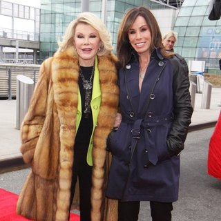 Joan Rivers, Melissa Rivers in Ride of Fame Campaign Launch
