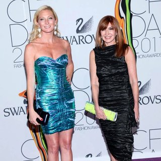 Maggie Rizer, Nicole Miller in The 2011 CFDA Fashion Awards