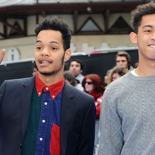 Rizzle Kicks in Men in Black 3 - UK Film Premiere - Arrivals