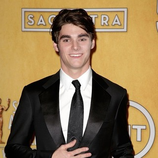 RJ Mitte in The 20th Annual Screen Actors Guild Awards - Press Room