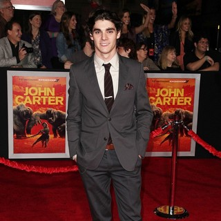 RJ Mitte in Premiere of Walt Disney Pictures' John Carter