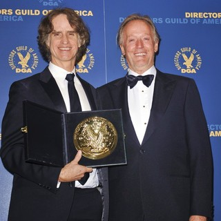 Jay Roach, Peter Fonda in 65th Annual Directors Guild of America Awards - Press Room