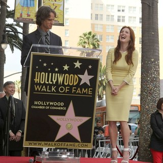 Jay Roach, Julianne Moore in Julianne Moore Honored with Star at The Hollywood Walk of Fame