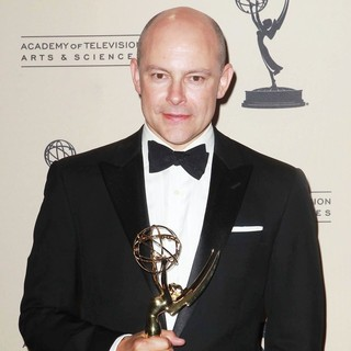 Rob Corddry in 2012 Creative Arts Emmy Awards - Press Room
