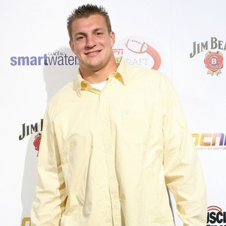 Rob Gronkowski in ESPN The Magazine's 7th Annual Pre-Draft Party