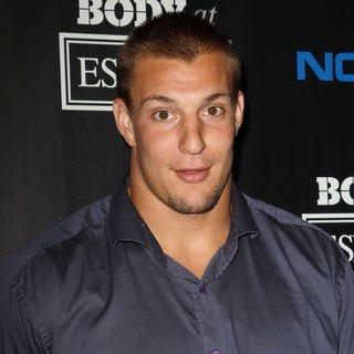 Rob Gronkowski in ESPN Body Issue Celebration Party