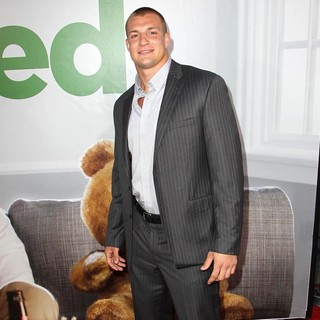 Rob Gronkowski in The Los Angeles Premiere Ted - Arrivals