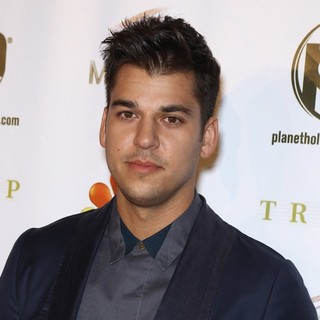 Rob Kardashian in 2012 Miss USA Pageant - Red Carpet