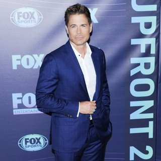 Rob Lowe in 2019 Fox Upfront