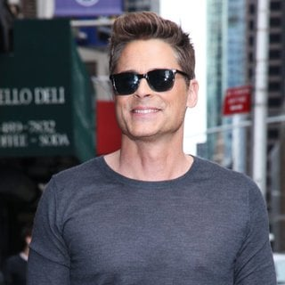 Rob Lowe in The Late Show with David Letterman - Arrivals