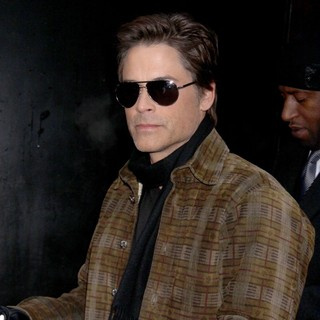 Rob Lowe in Celebrities Outside The ABC Studios for Good Morning America
