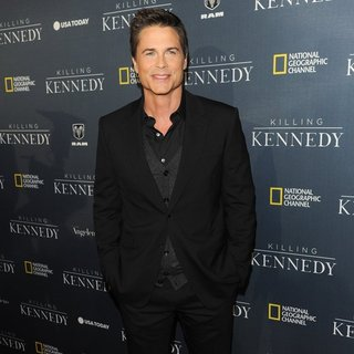 Rob Lowe in Premiere of National Geographic Channel's Highly Anticipated Killing Kennedy