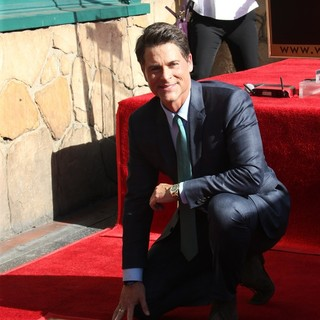 Rob Lowe Honored with A Star on The Hollywood Walk of Fame